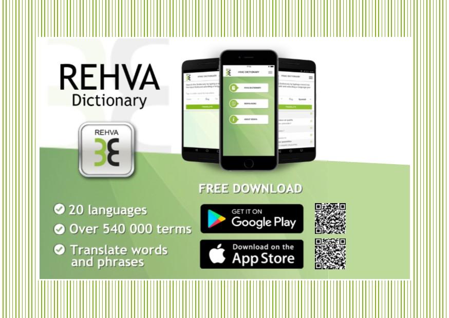 REHVA App postcard A6